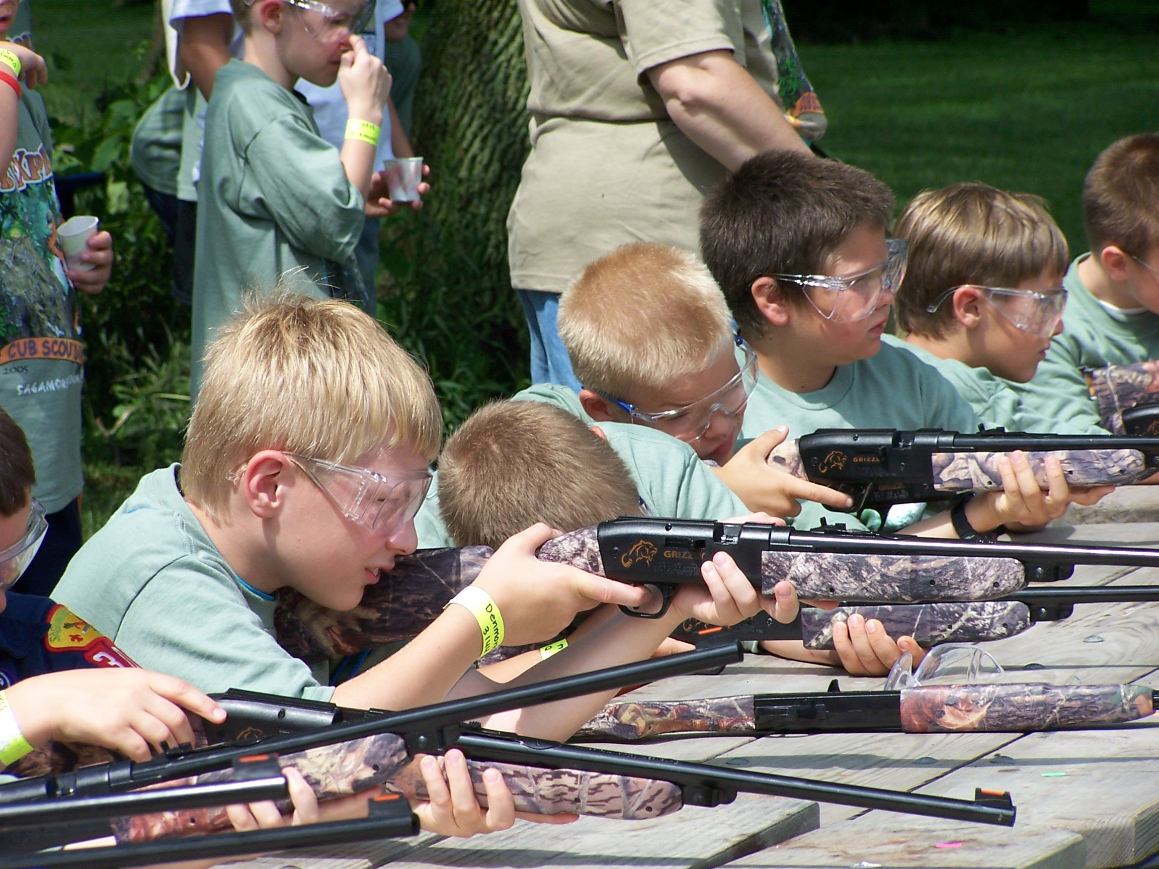 BB gun safety & shooting